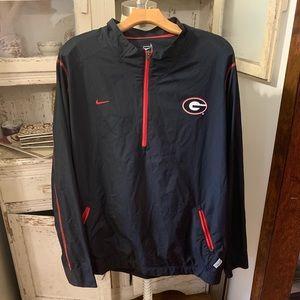 Nike Authentic Georgia UGA Windbreaker